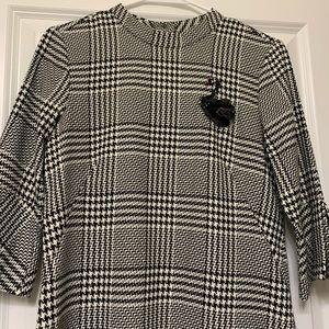 H&M plaid dress Size 6